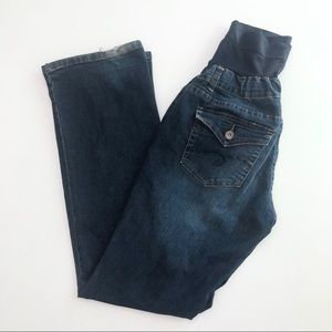 💙 Expected by Lilac Maternity Blue Jeans Sz M 💙